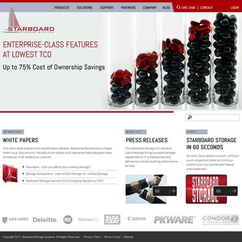 Runner-up design by Webnomica