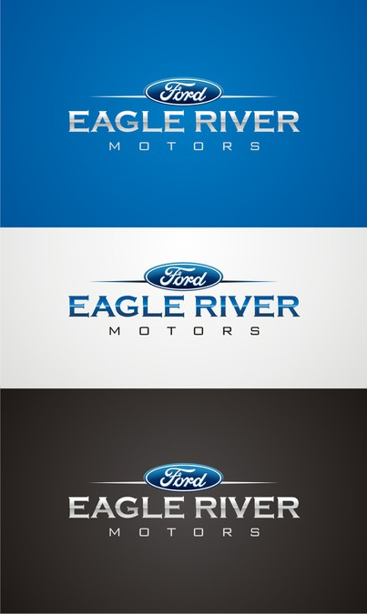 Eagle River Ford >> I Need A Logo For My New Ford Dealership Logo Design Contest