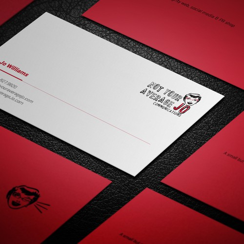 Create a cheeky, fun business card Design by Advero