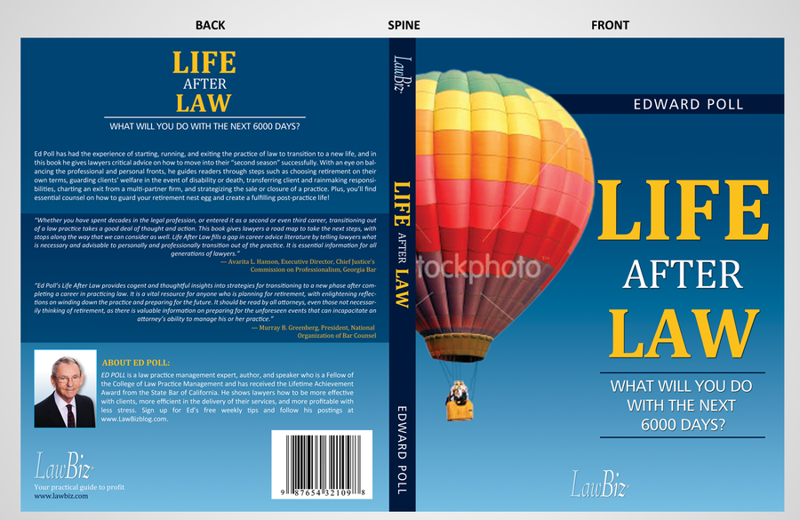 Book Cover Making Contest ~ Create a book cover for lawbiz management s life