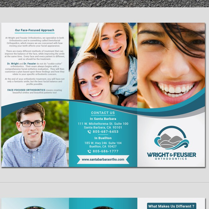 create an awesome orthodontic pamphlet brochure contest