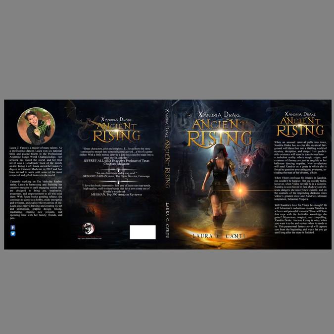 Fantasy Book Cover Trends ~ Supernatural fantasy hardcover design book cover contest