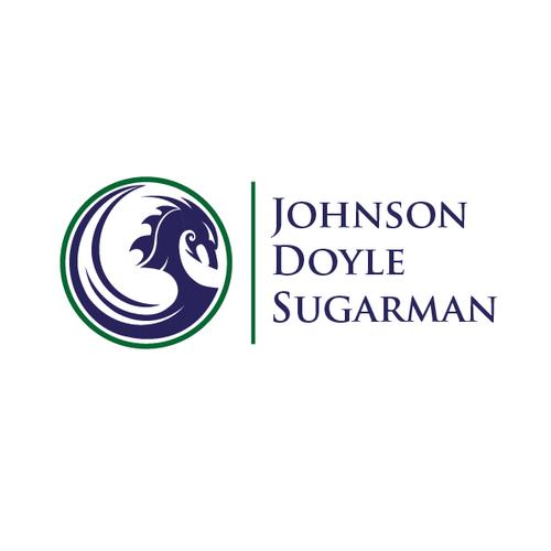 Create a winning logo design for criminal law firm Johnson Doyle Sugarman. Design by MeerkArt