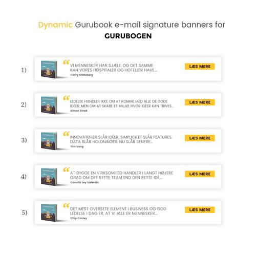Gurubook E Mail Signature Banner Banner Ad Contest