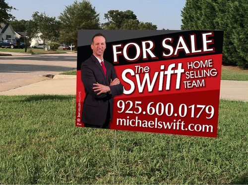 real estate for sale sign competition your design will