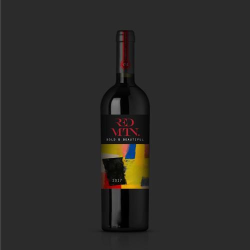 Premium wine made fun and sexy! (guaranteed award) | Product label