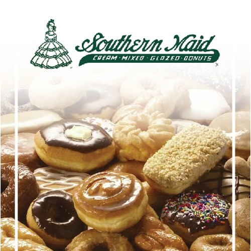 Create an ad for Southern Maid Donuts Diseño de bpdgroup