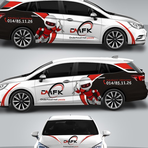 Runner-up design by MasterWraps™