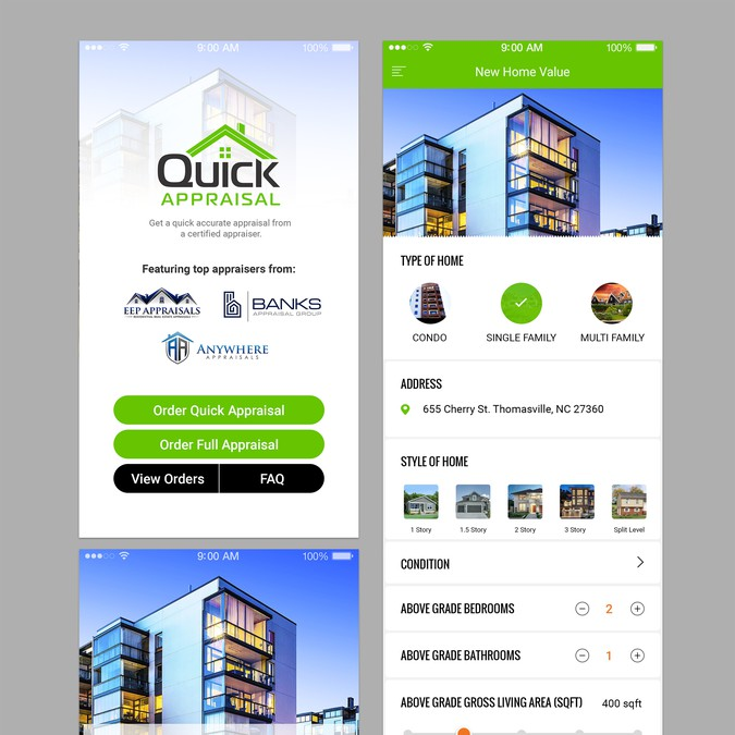 Create A SIMPLE & User Friendly App For HOME VALUE