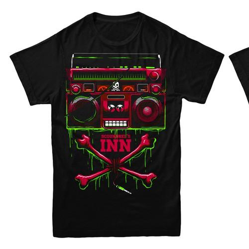 Radio Station T Shirt Designs