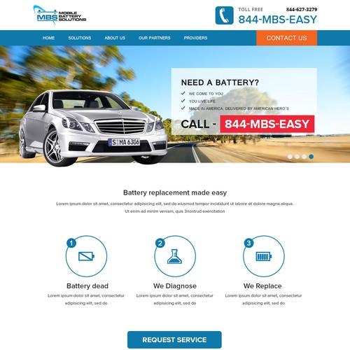 Clean, Modern Website for an Automotive Service Provider | WordPress