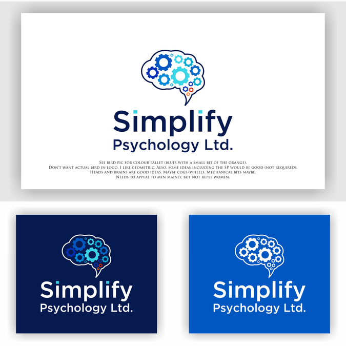 Simplify Psychology needs a logo for men | Logo design contest