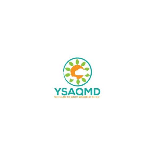 Government Air Quality Organization Logo Design Logo