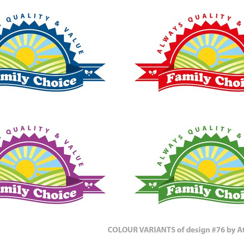 Runner-up design by Attic Graphics