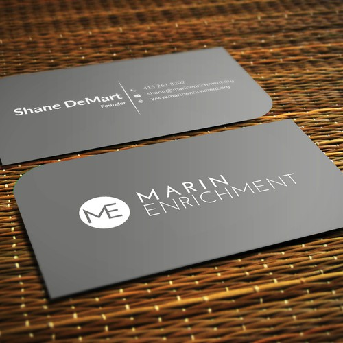 Non profit business card clean and colorful business card contest runner up design by mgrh 96 colourmoves