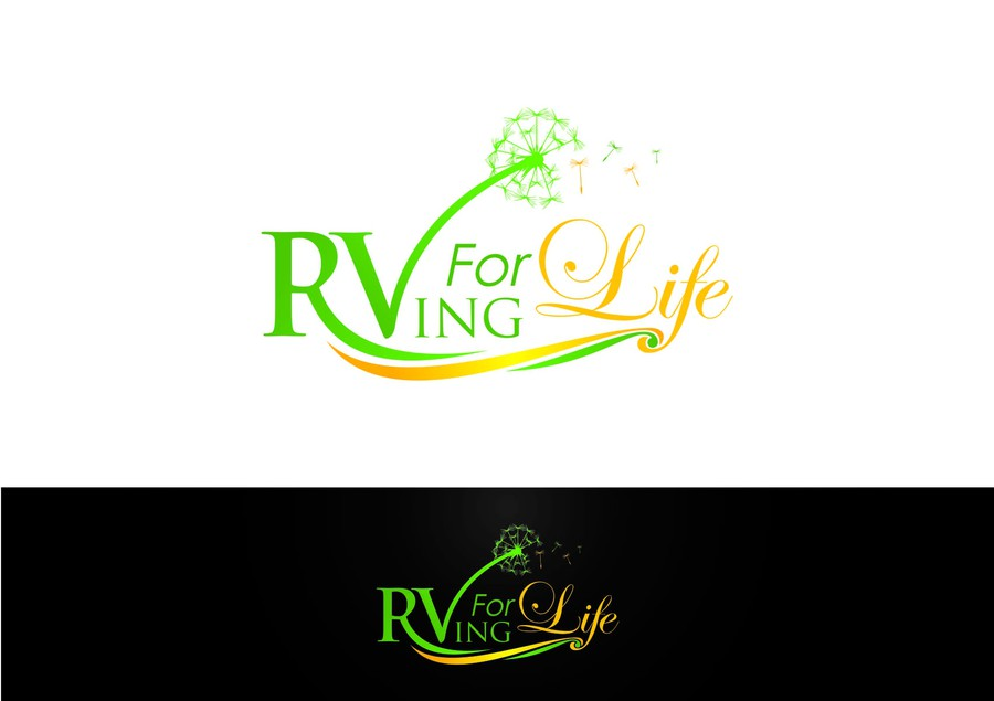 Create an inspirational logo for rvingforlife a for Create blog logo