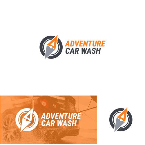 Design a cool and modern logo for an automatic car wash company Design by Ery Prihananto