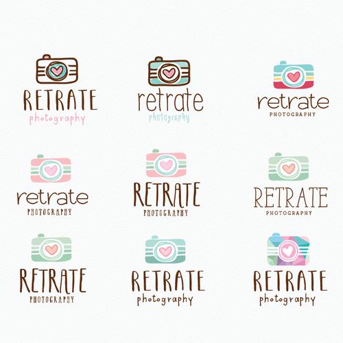 Crie um LOGO despojado, criativo para um estudio fotográfico familiar. Design por ✿∂ℓ¡¢¡∂✿