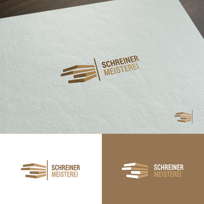 Logodesign Für Schreinerei Mit Liebe Zum Handwerk Logo Design