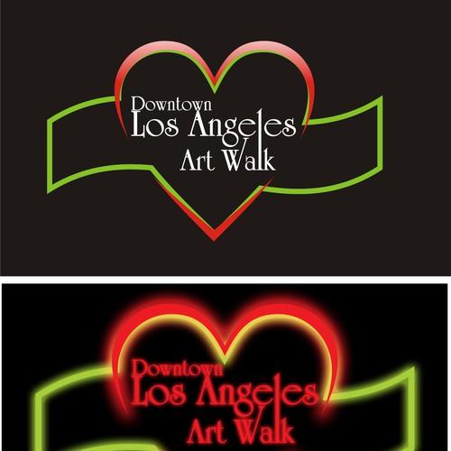 Arte Design In Los Angeles Images: Downtown Los Angeles Art Walk Logo Contest