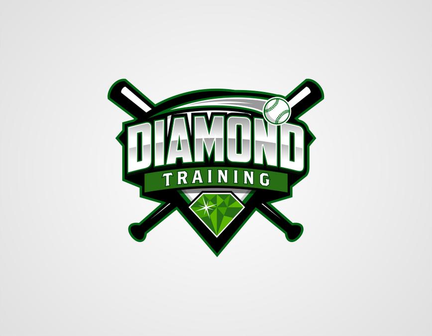 Professional Player Logo Professional Baseball Player