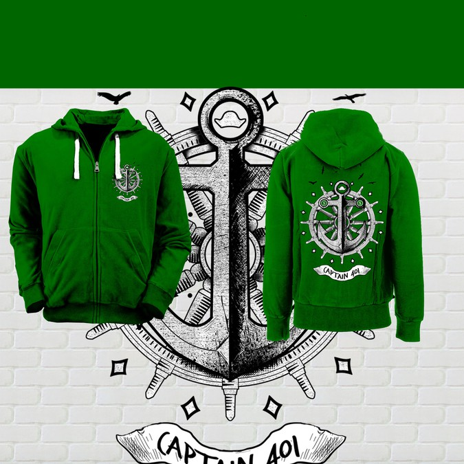 Captain401 Hoodie Design Clothing Or Apparel Contest