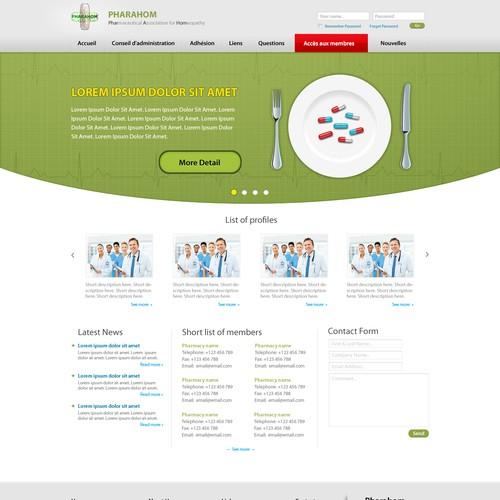 Runner-up design by Bingotheme