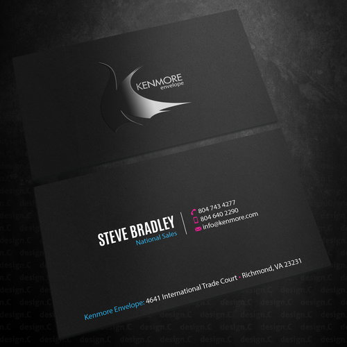 High end envelope printer converter clean slate business card runner up design by designc reheart Images