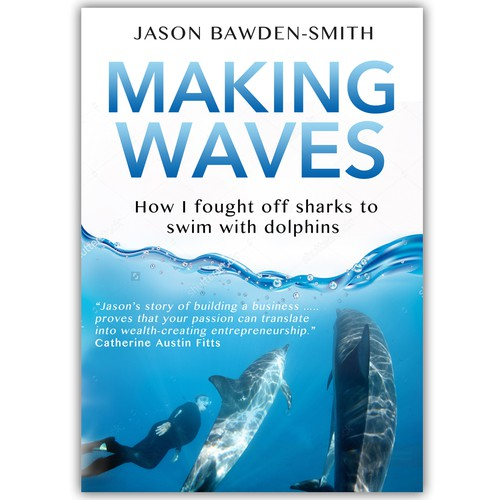 Book Cover Making Contest ~ Making waves book cover contest