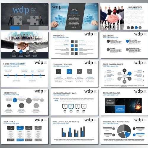 Diseño finalista de Presentation Deck