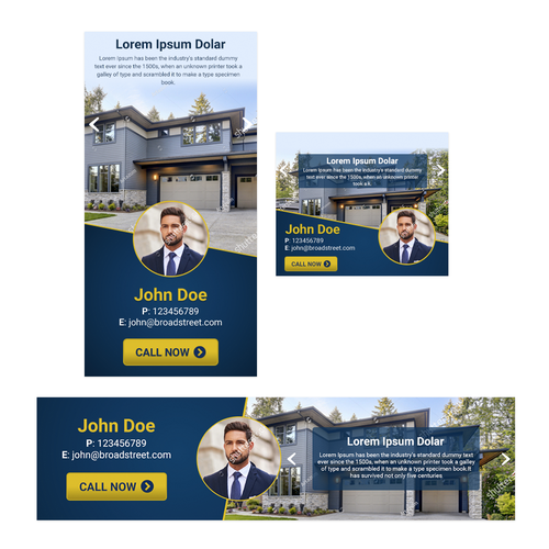 Banner Ad for Real Estate - Guaranteed Design by Ali143