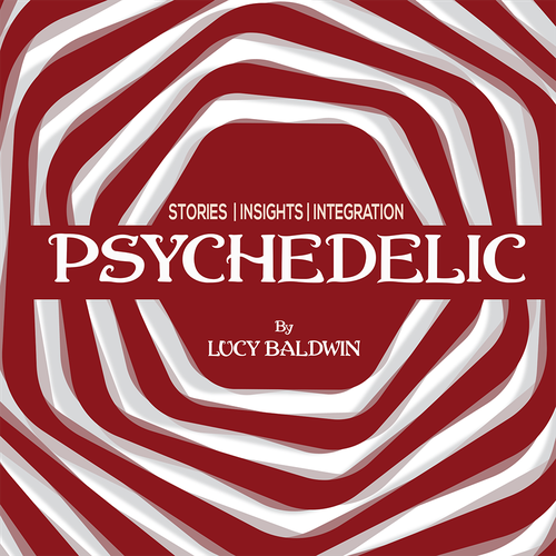 Psychedelic Podcast Cover!! Look for something trippy that POPS. Design by Gino@work