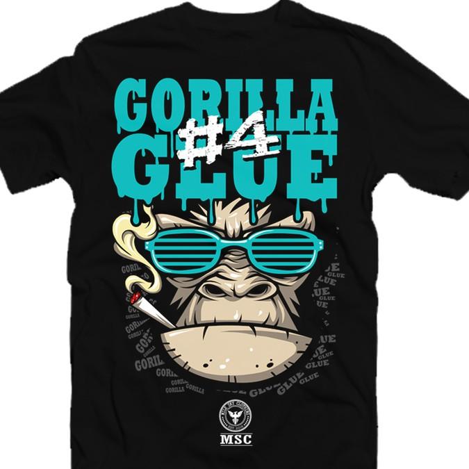 Marijuana Shirt of Gorilla Glue #4   T-shirt contest