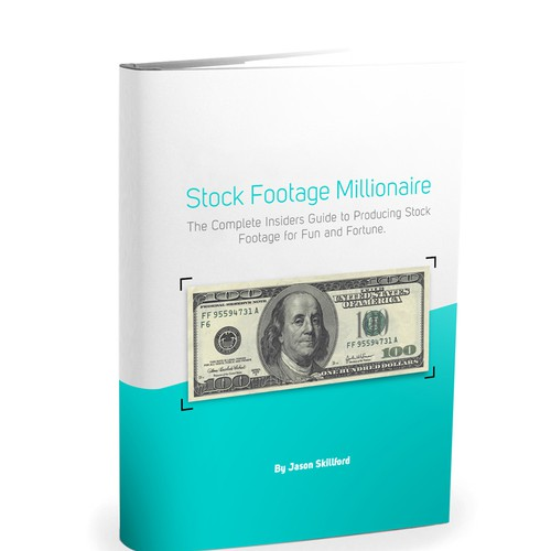 "Eye-Popping Book Cover for ""Stock Footage Millionaire"" Design by 36negative"