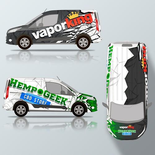 Diseño finalista de Konstantin Graphics