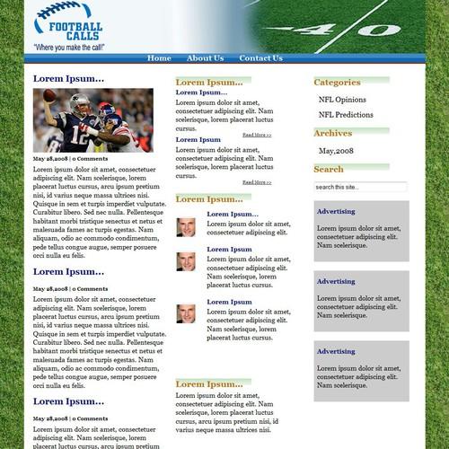 Diseño finalista de Boyles Web Design