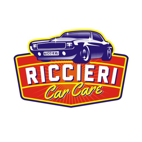 Vintage Logo For A Polishing Car Company
