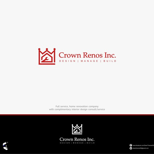 Crown Renos Inc Create A Logo For Them That Attracts