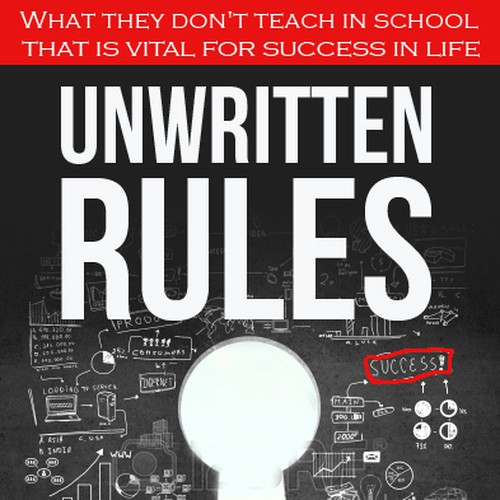 Book Cover Design Rules : Book cover for quot the unwritten rules contest