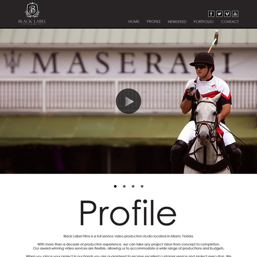 Runner-up design by Web Hub Solution