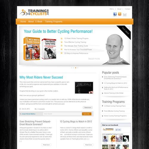 Diseño finalista de Designr-web