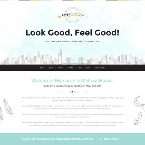 Design finalista por WebDesignJam