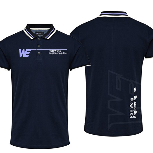 Create a clean yet engaging corporate polo shirt design for Polo t shirt design images