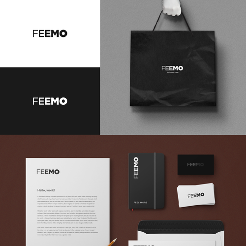 FEEMO IS LOOKING FOR A SIMPLE AND CLEVER LOGO DESIGN Diseño de aerith