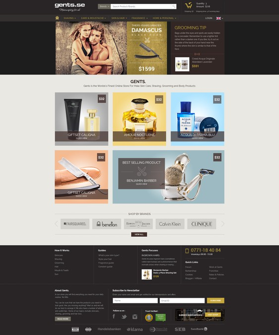Winning design by Design Samurai