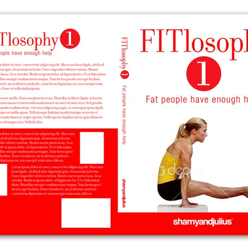 Exercise Book Cover Template : Book cover template for a series of fitness books
