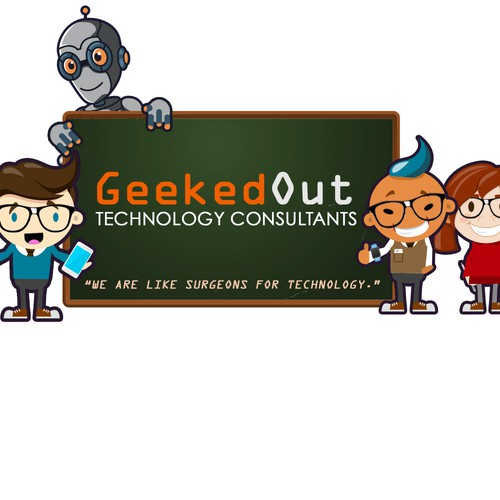 Geeked out technology consultants needs a world class logo for Best design consultancies in the world