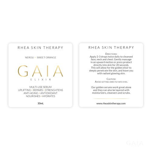 New Labels needed for high end skin care company. Ontwerp door Flora B. Design