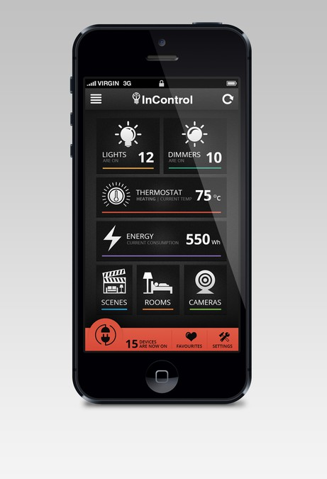 Home Design Ideas App: Design Home Automation App To Control Lights