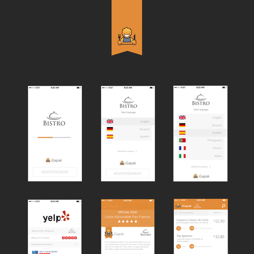Runner-up design by VESIGN
